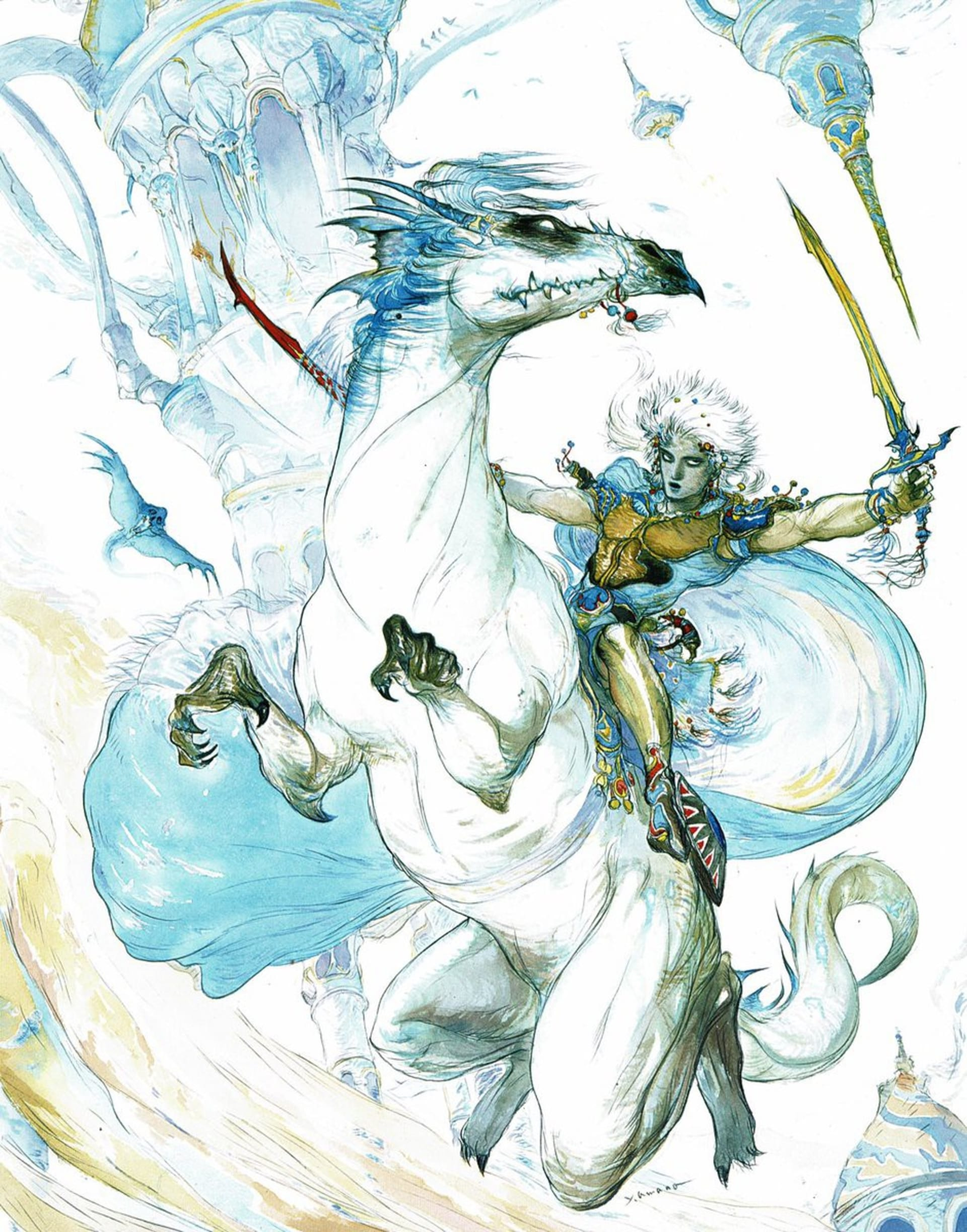 Final Fantasy III, Amano (TWIUP)