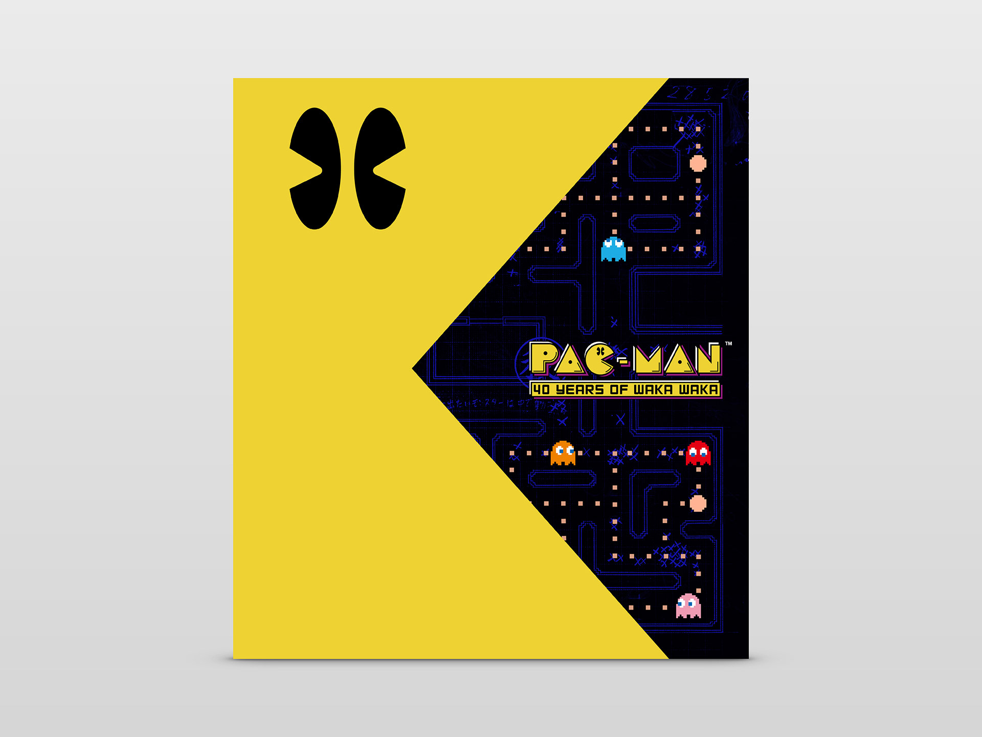 The official Pac-Man 40th Anniversary Book