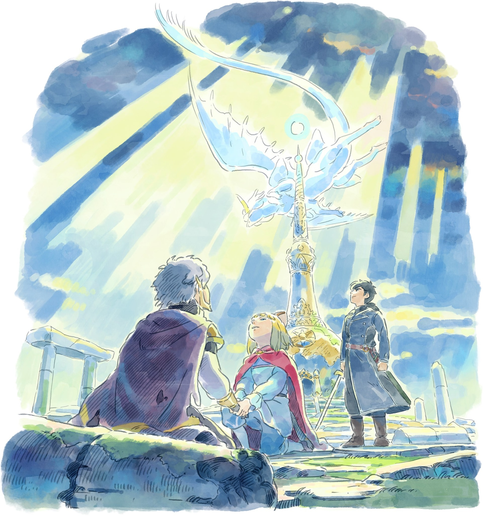 The Enchanting Art Style of Ni no Kuni II