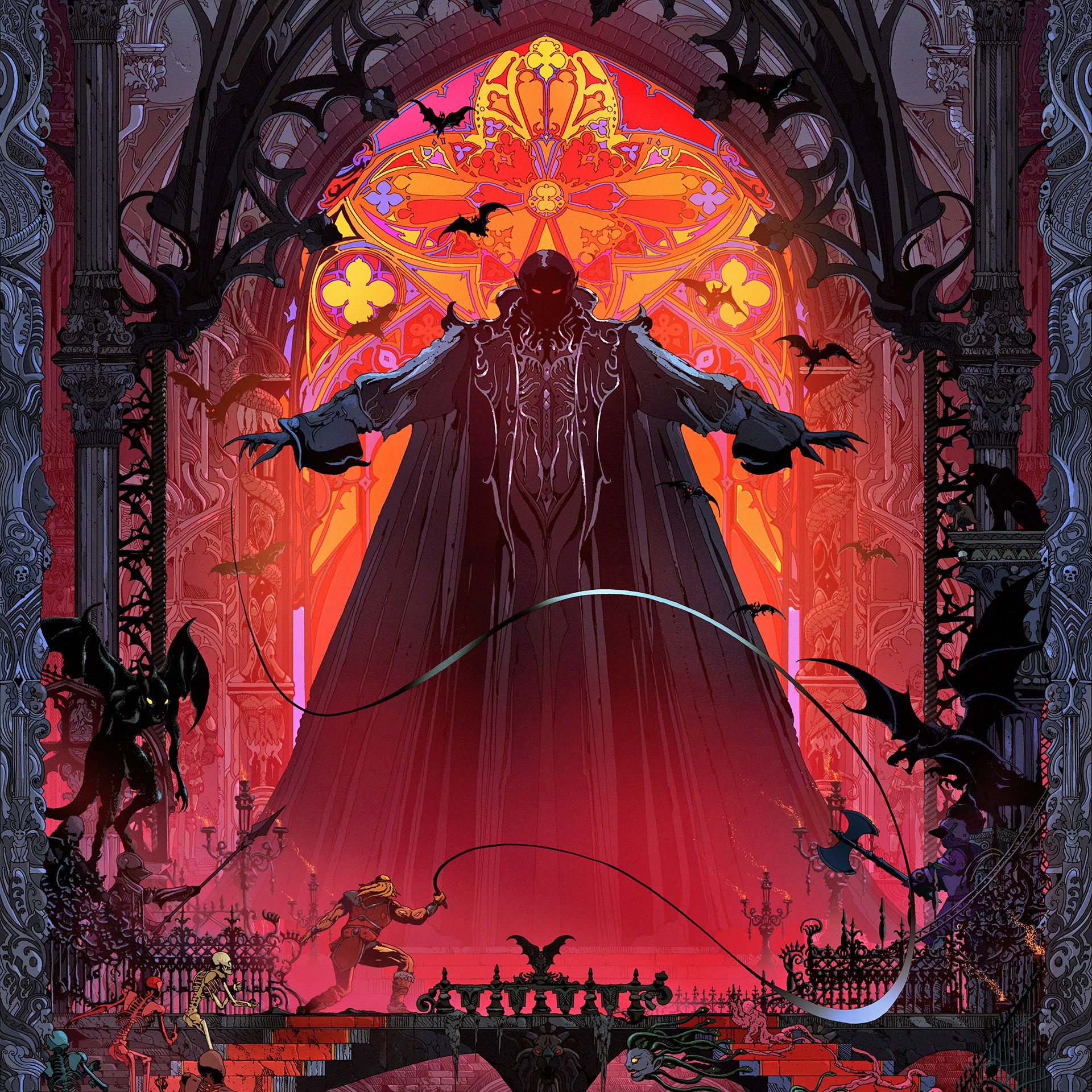 Officially Licensed Castlevania Art Prints By Kilian Eng