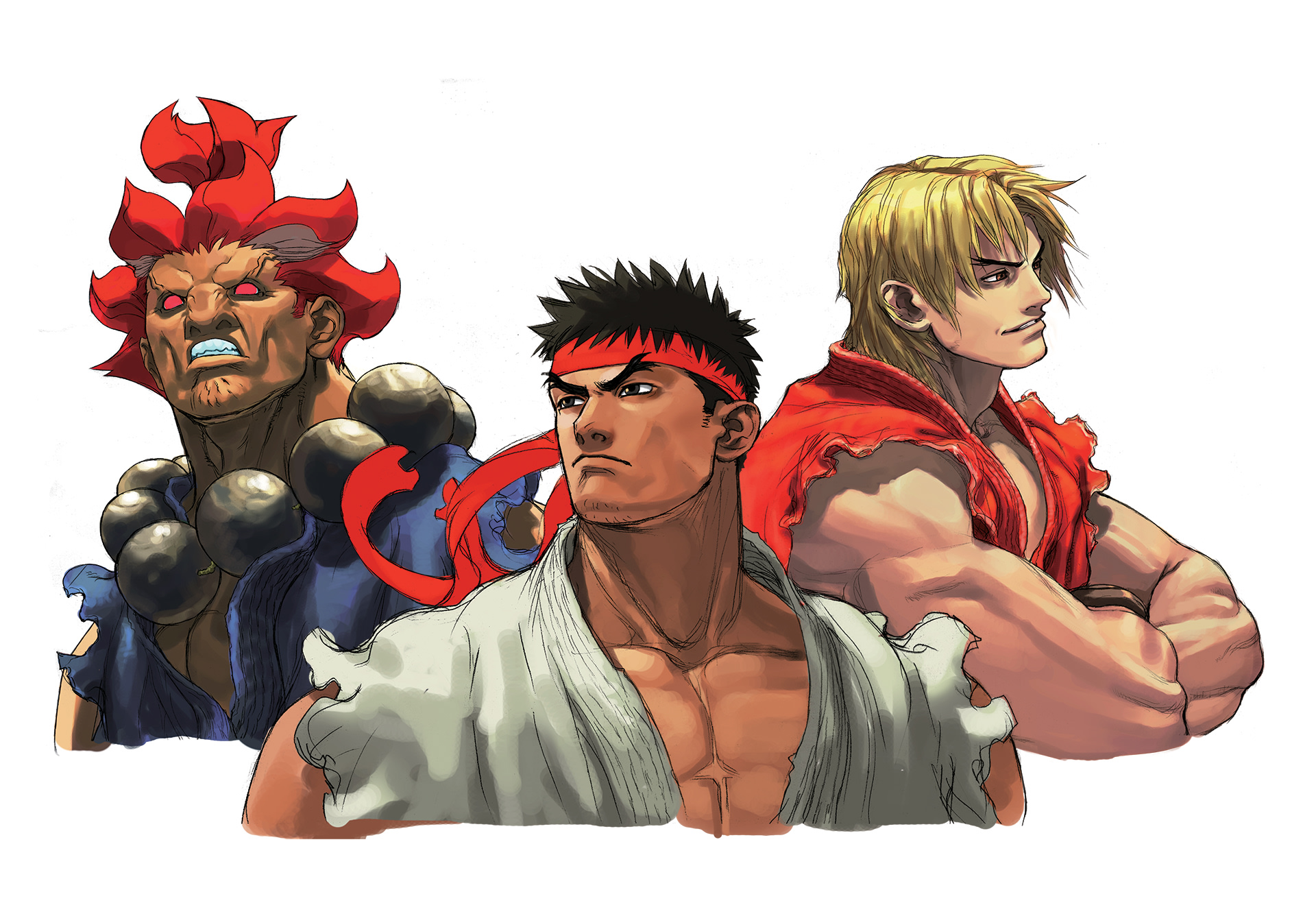 Officiële Street Fighter Art Collectie