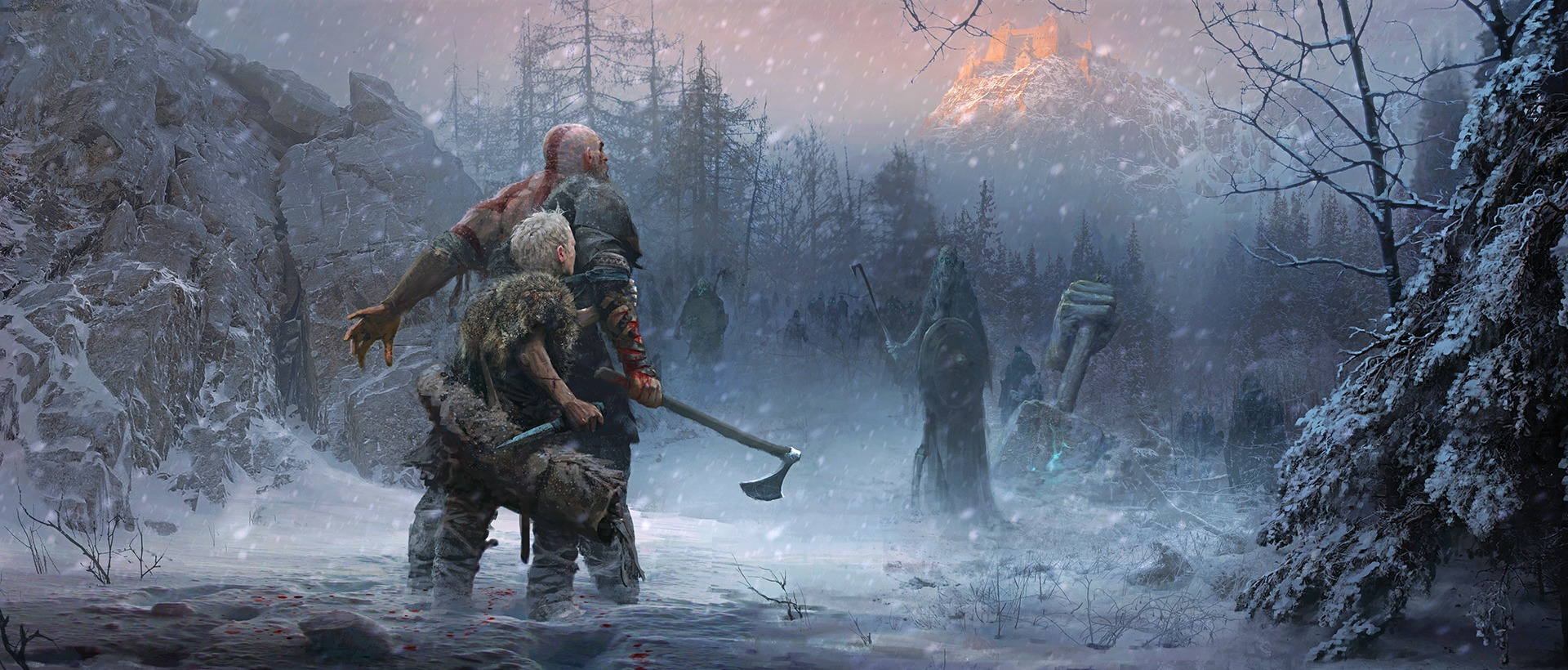 From Savage to Subtle; God of War's Tonal Contrasts