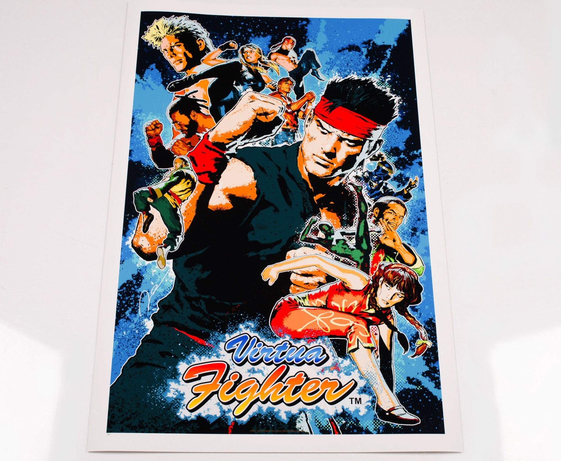 Artwork Virtua Fighter | Virtua Fighter | SEGA