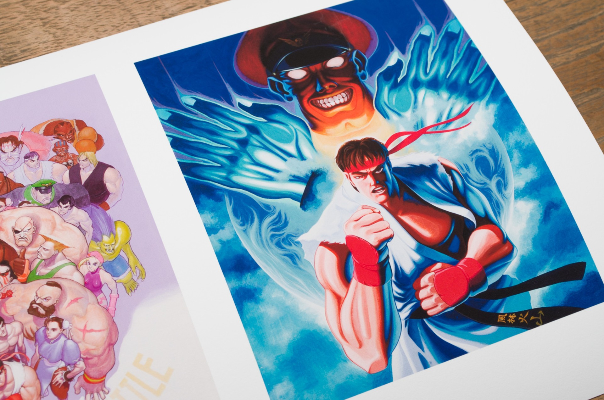 Artwork Street fighter II & Super Street Fighter II Posters   Street  Fighter II