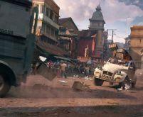 Antananarivo Car Chase - Uncharted 4