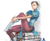Chun-Li Street Fighter IV Ad
