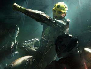Thane - Mass Effect, BioWare ©