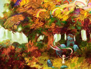 Lonely Rainbow Queen, Emmanuel Malin ©