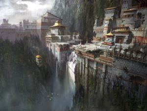 Gompa - Uncharted 2, Naughty Dog ©