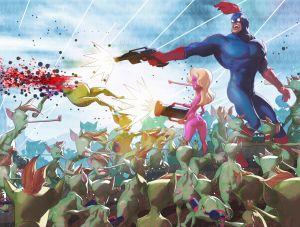 Ultra Mega Man, Julien Renoult ©