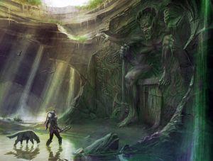 Shrine of Mehrunes Dagon - Skyrim, Bethesda Softworks ©