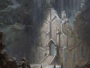 Snow Elf Temple - Skyrim, Bethesda Softworks ©