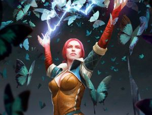 Triss: Butterfly Spell - Witcher 3, CD Projekt Red ©