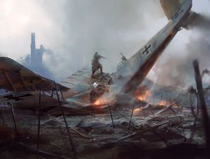 Trench Hell Plane - Battlefield 1, DICE ©