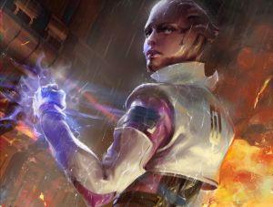 Aria - Mass Effect, BioWare ©