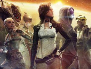 The Team - Mass Effect, BioWare ©