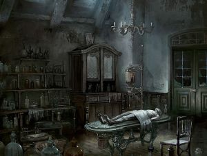 Iosefka\'s Clinic - Bloodborne,  ©