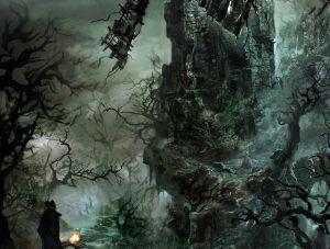 Forbidden Woods - Bloodborne,  ©
