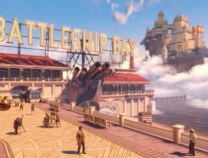 Battleship Bay - Bioshock Infinite, Irrational Games ©
