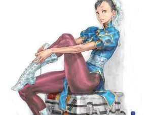 Chun-Li Street Fighter IV Ad, Capcom ©