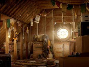 Drake\'s Attic - Uncharted 4, Naughty Dog ©
