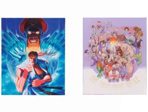 Street fighter II & Super Street Fighter II Posters, Capcom ©
