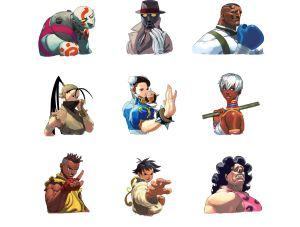 Street Fighter III:3rd Strike Portraits, Capcom ©