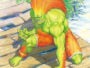 Blanka - Street Fighter II, Capcom ©