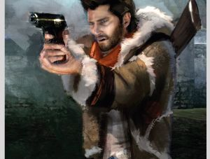 Drake - Uncharted 2, Naughty Dog ©