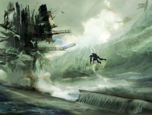 Ice Platform - Killzone, Guerrilla Games ©