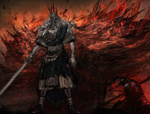 Gwyn Lord of Cinder - Dark Souls,  ©