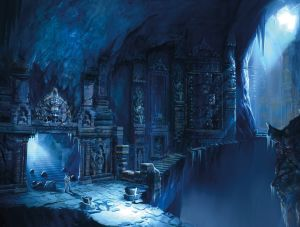 Ice Temple - Uncharted 2, Naughty Dog ©