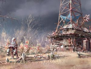 Power Tower Farm - Fallout 4, Bethesda Softworks ©
