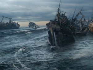 Ship Graveyard - Uncharted 3, Naughty Dog ©