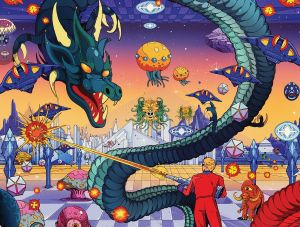 Space Harrier, SEGA, Cook & Becker ©