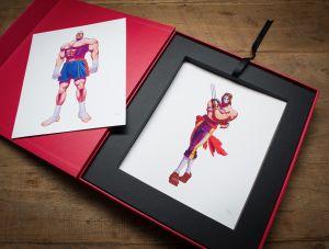 Super Street Fighter II Box Set, Capcom ©