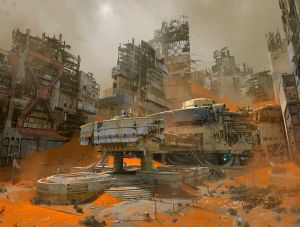 The Buried City - Destiny, Bungie ©
