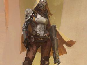 The Hunter - Destiny, Bungie ©