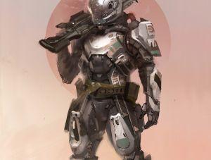 The Titan - Destiny, Bungie ©