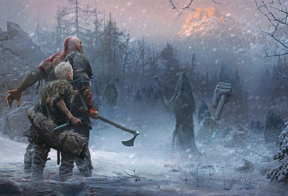 God of War - Norse Concept