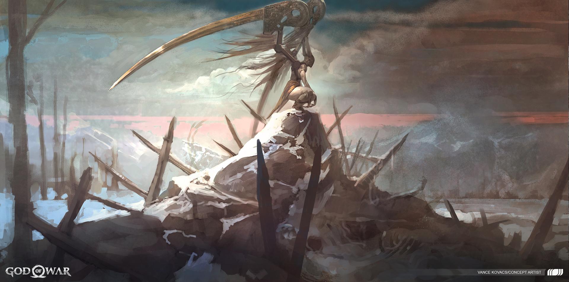 God of War – Valkyrie 1
