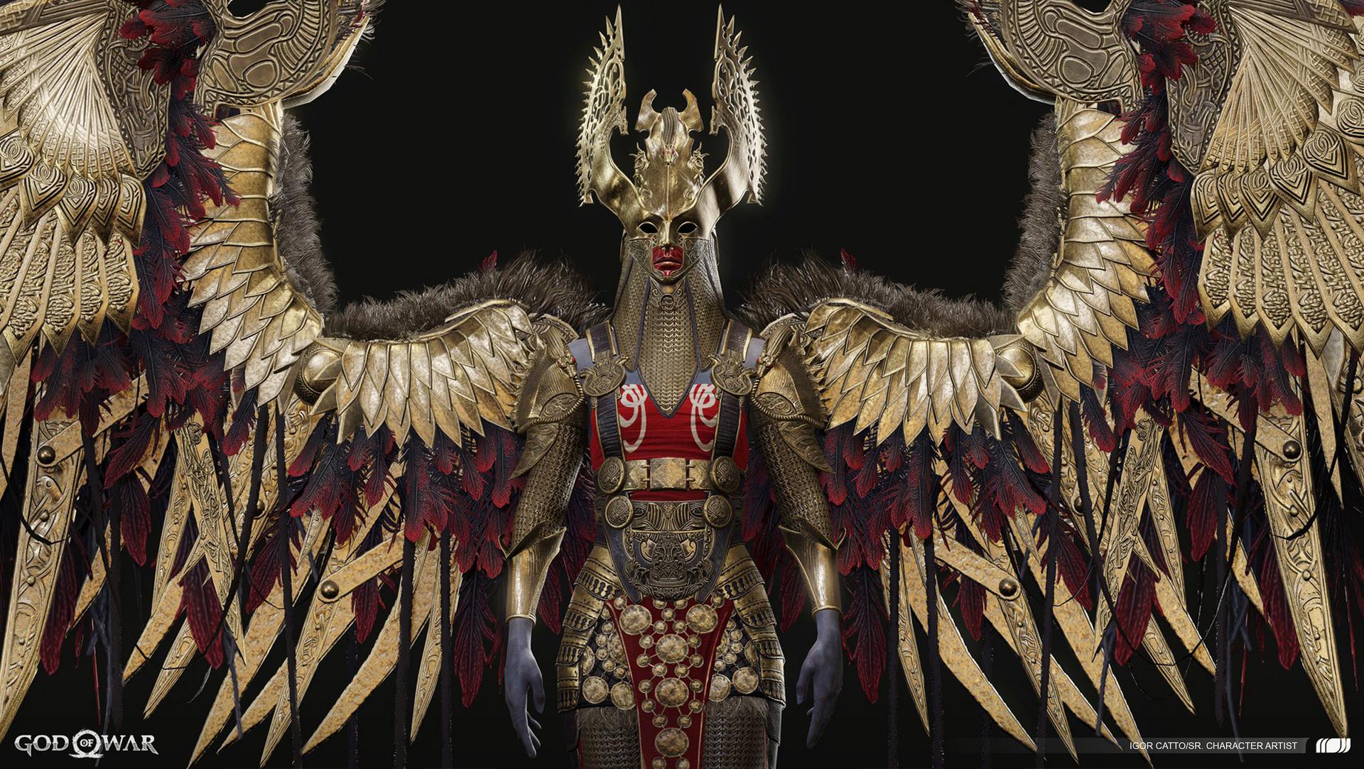 God of War – Valkyrie Queen