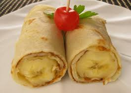 Crepes Filled with Caramelized Apples