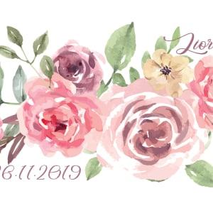 חבק זר פרחים חגיגי
