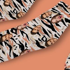 גרביים דגם פינק זברה