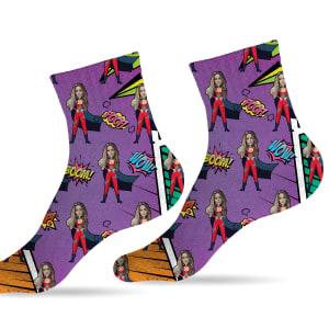 גרביים דגם גיבורי על פרפליי