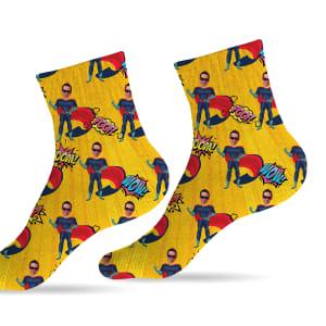 גרביים דגם גיבורי על קומיקס הירוו