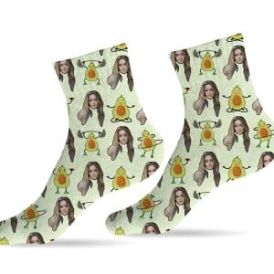 גרביים דגם אבוקדו