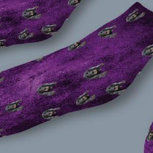 גרביים דגם פרפל ראיין