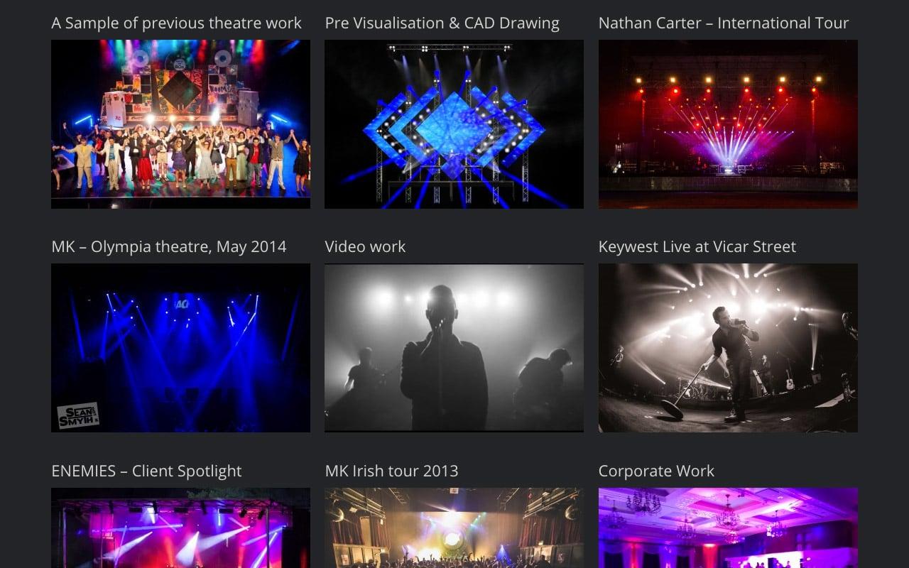 Conor Biddle Website Screenshot – 1